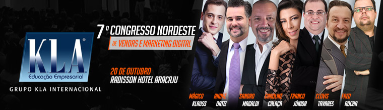 7º Congresso Nordeste de Vendas e Marketing Digital