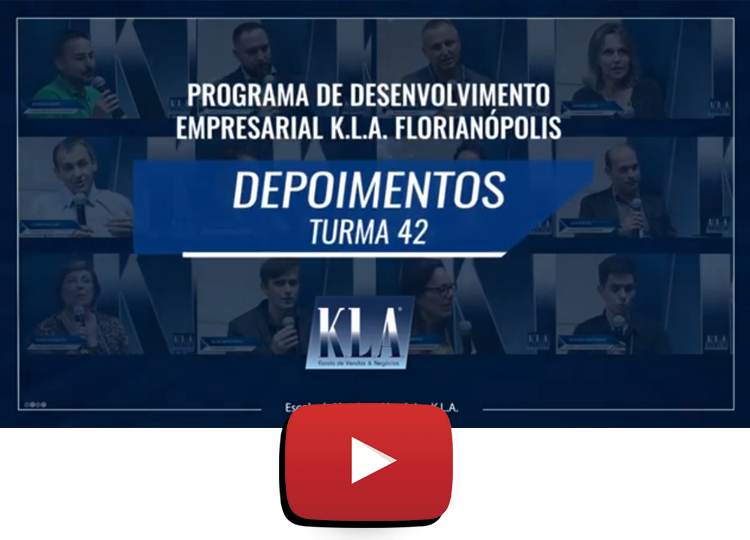 Depoimentos escola de vendas e negócios KLA Florianópolis
